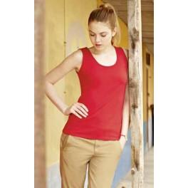 Camiseta sin mangas de mujer