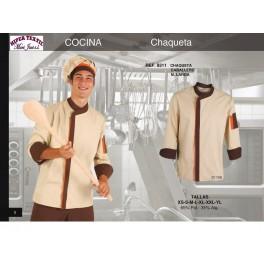 9311 CHAQUETILLA DE COCINA M/L