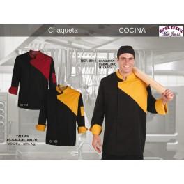 9314 CHAQUETA DE COCINA M/L