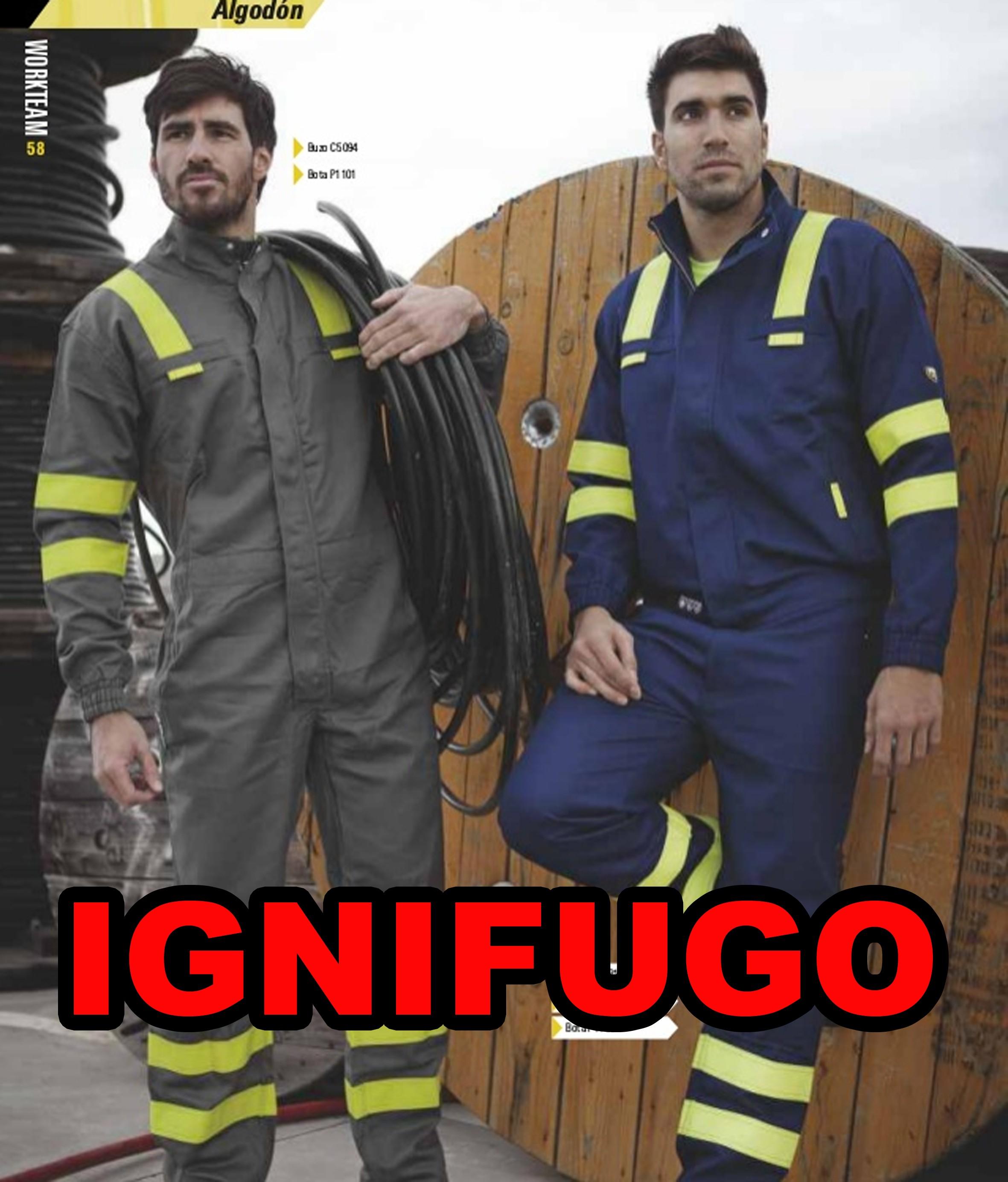PRENDAS IGNIFUGAS